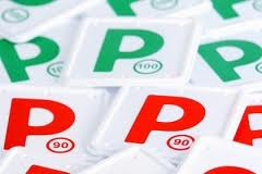 P Plates Red and Green