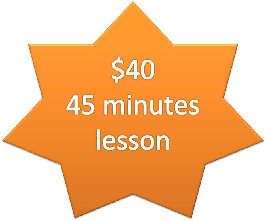 Single $40_45minutes